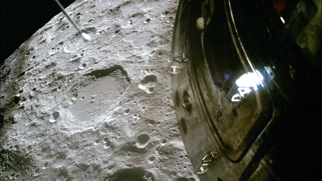 50 years after Apollo 13, we can now see the moon as the astronauts did