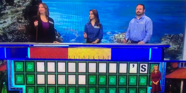 Watch A Woman Solve A Wheel Of Fortune Puzzle With Only