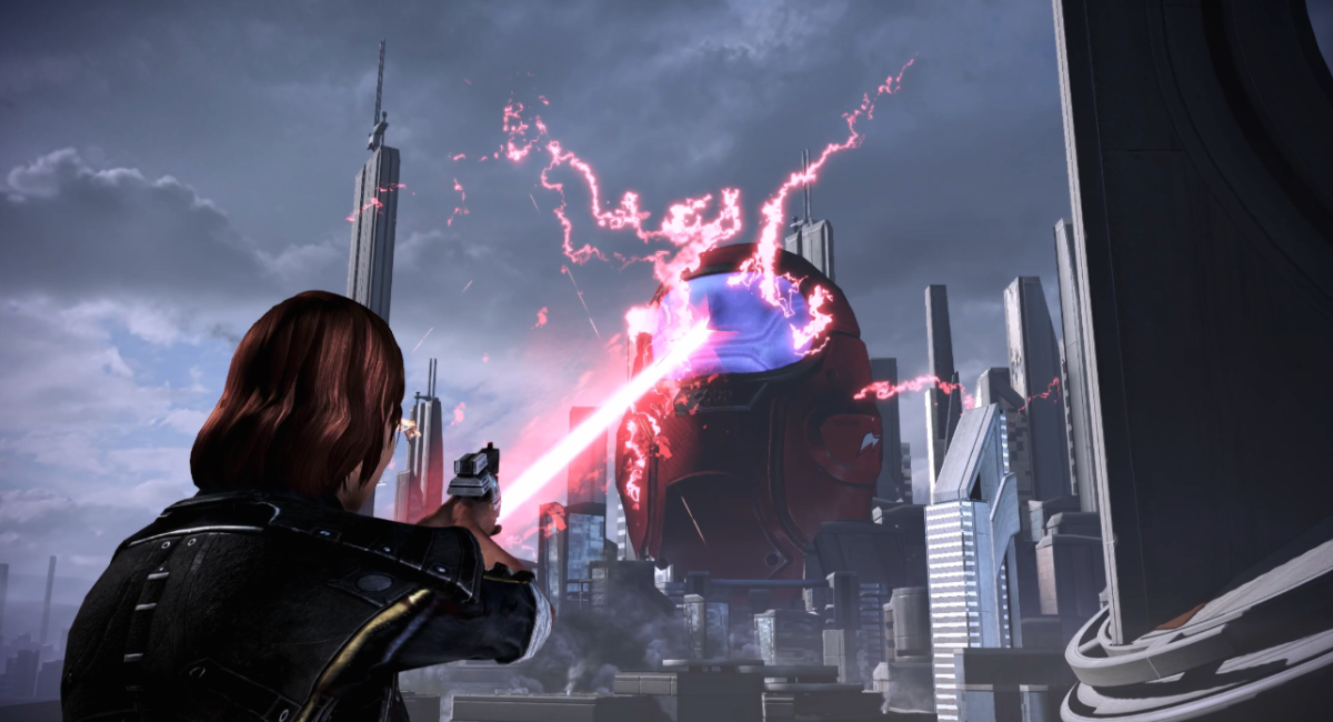 Mod turns Mass Effect's reapers into Among Us imposters just for the memes