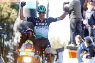 Bora-Hansgrohe's Emanuel Buchmann takes victory at the Trofeo Serra de Tramuntana at the 2020 Challenge Mallorca in Spain