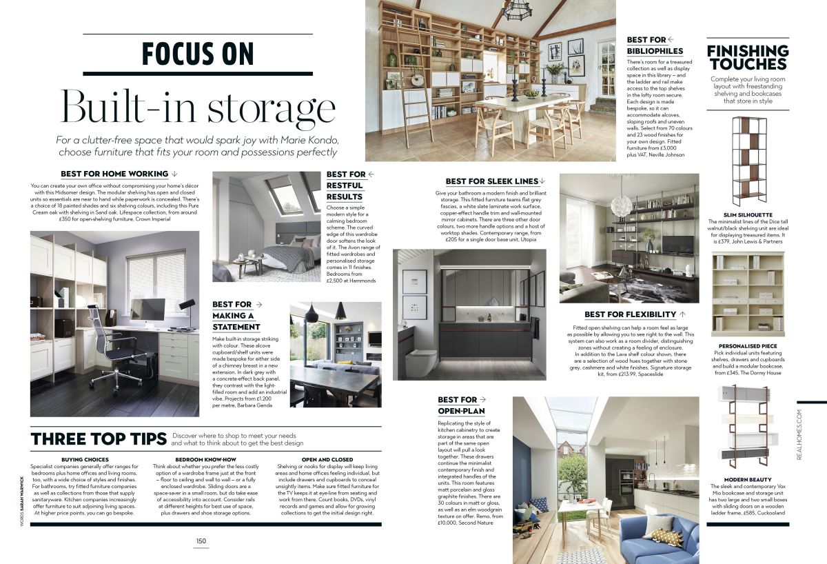 New issue alert! Real Homes magazine is on sale now – take a peek