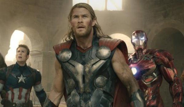 Captain America, Thor and Iron Man as The Avengers