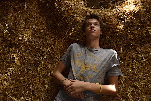 Joe laying down