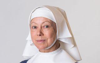Jenny Agutter plays Sister Julienne
