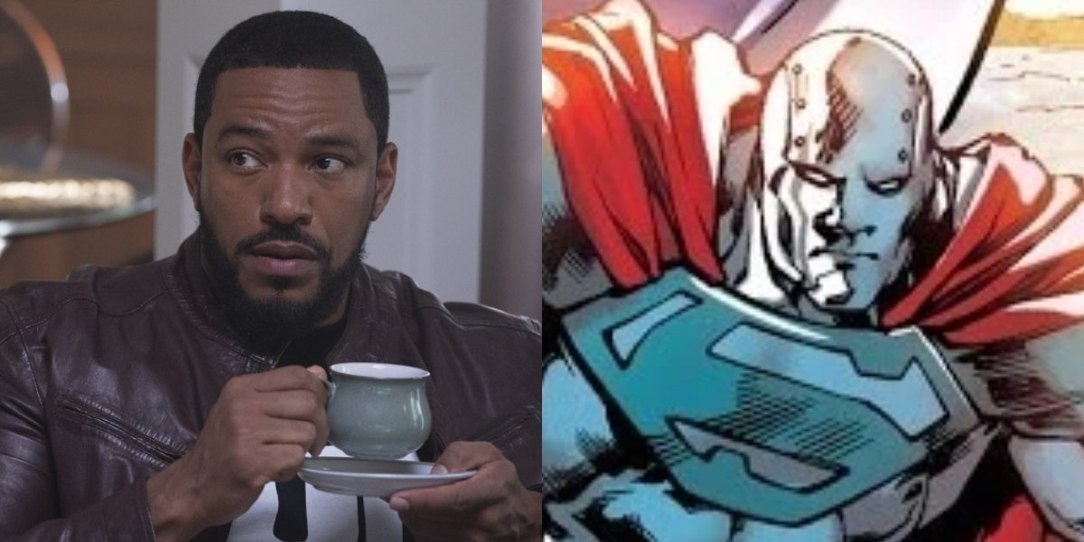 Laz Alonso and Steel