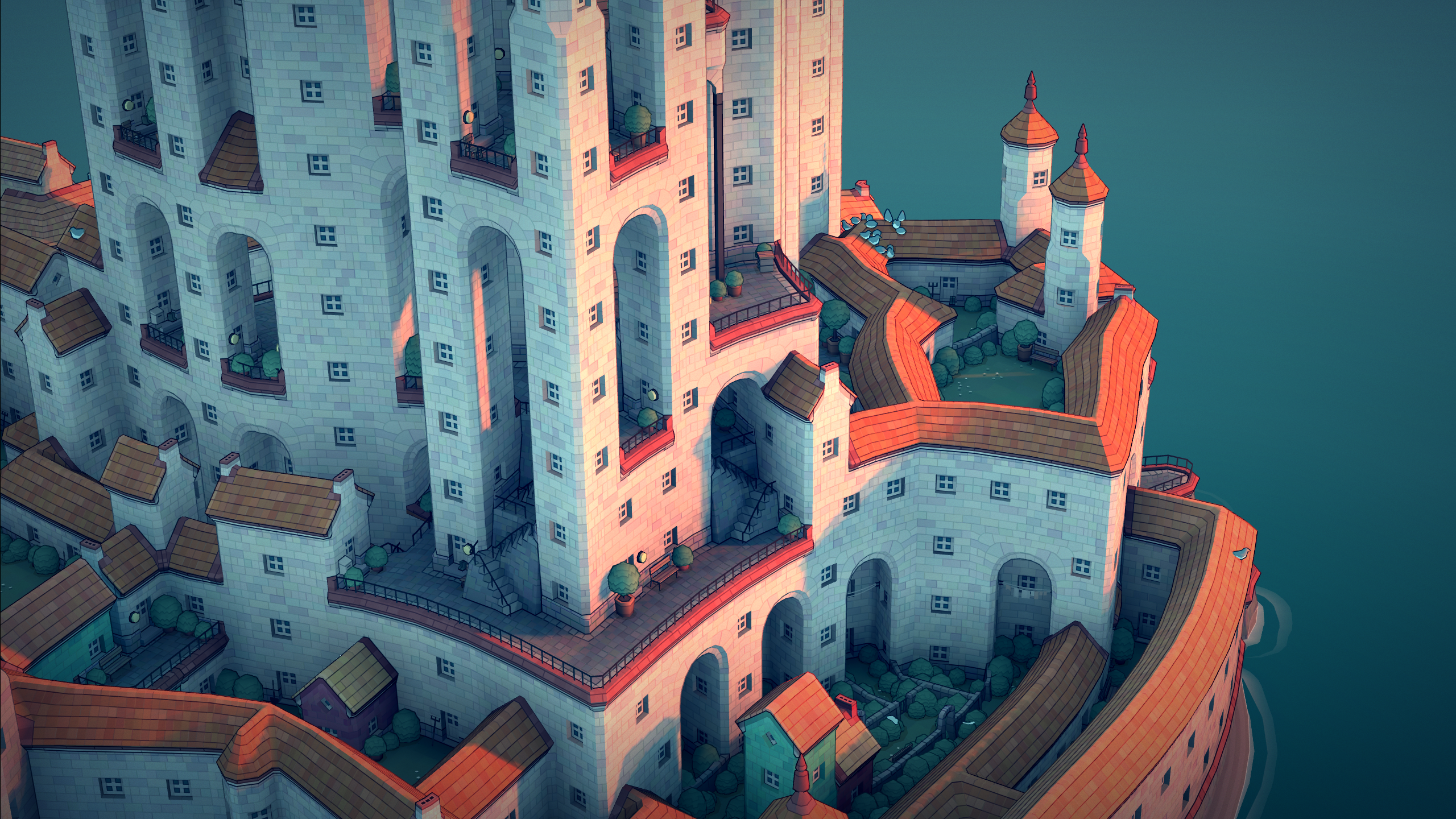 Townscaper review   PC Gamer
