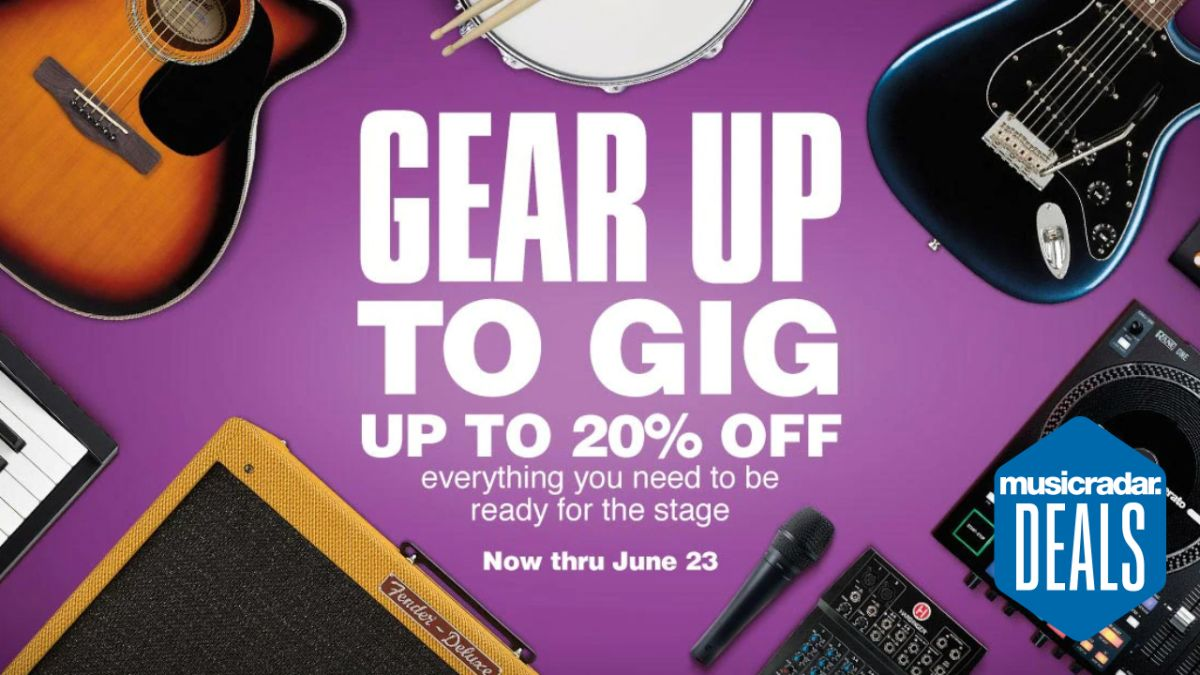 Get 20% off select gear at Guitar Center: the best deals for live musicians ahead of Prime Day?