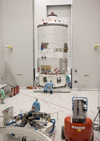 Europe's third Automated Transfer Vehicle (ATV-3) is named Edoardo Amaldi.