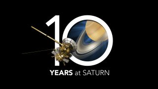 NASA's Cassini Probe Marks 10 Years at Saturn