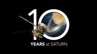 NASA's Cassini Probe Marks 10 Years at Saturn