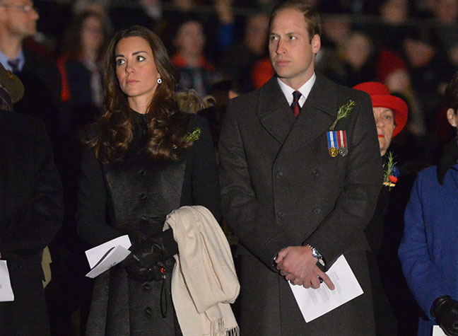 Catherine and William royal tour photo