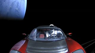 See Views of SpaceX's Starman Riding a Tesla Roadster in ...