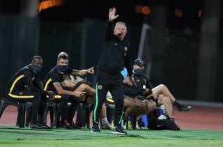 Gavin Hunt coach of Kaizer Chiefs