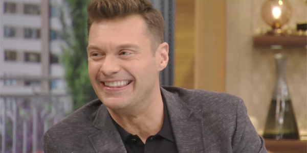 Ryan Seacrest on Live! with Kelly and Ryan