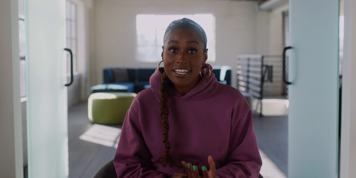 Issa Rae announcing a new venture