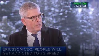 Ericsson CEO Borje Ekholm on CNBC.
