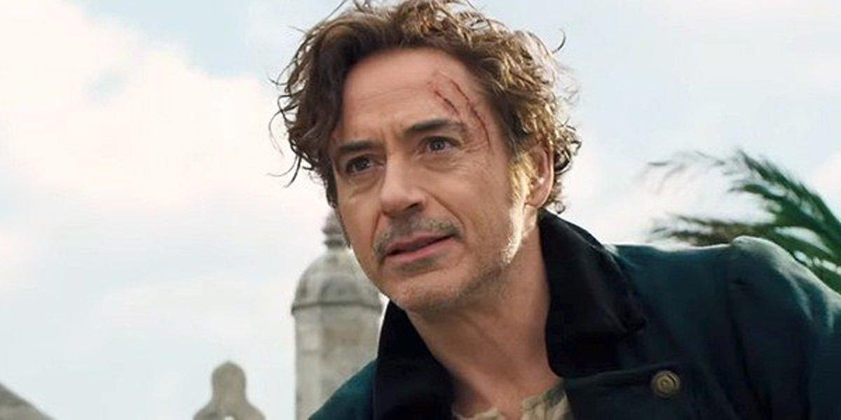 Robert Downey Jr. as Dr. Dolittle in the Dolittle trailer