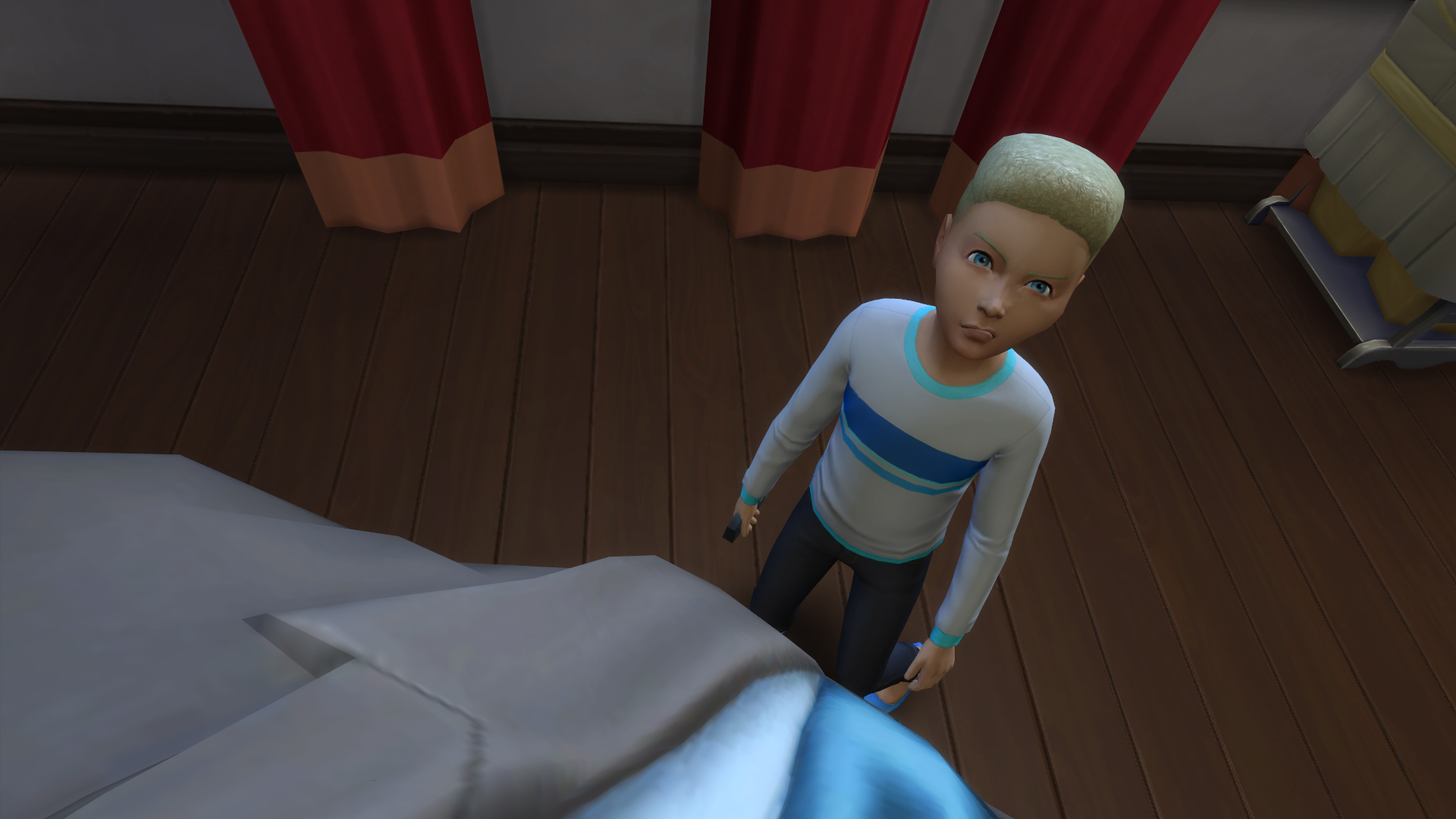 Everything is hilarious and terrifying in The Sims 4 first