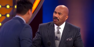 Watch Steve Harvey's Mind Get Blown By Family Feud Contestant's Painful Answer