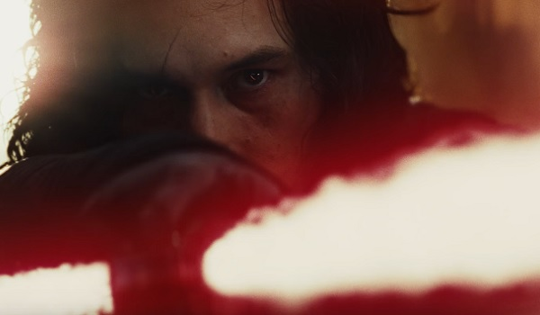 Star Wars: The Last Jedi Luke Leaving Kylo Angry