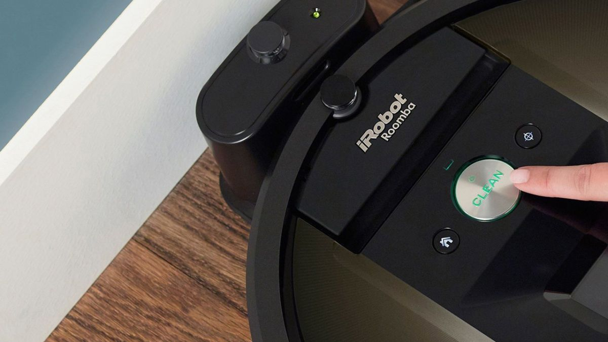 roomba robot vacuum cleaners now work with amazon echo. Black Bedroom Furniture Sets. Home Design Ideas