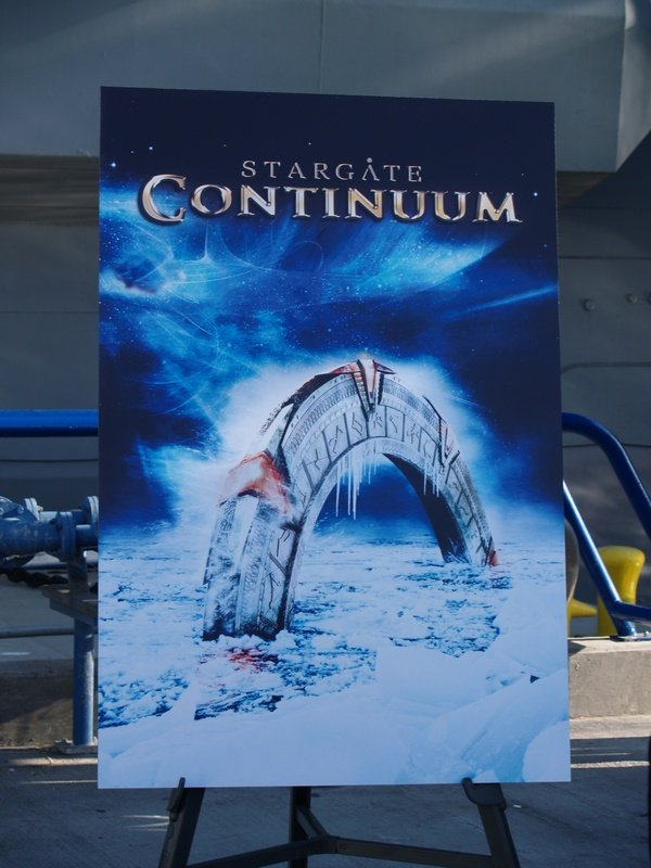 Comic Con: Aircraft Carrier Premiere Of Stargate Continuum #2764