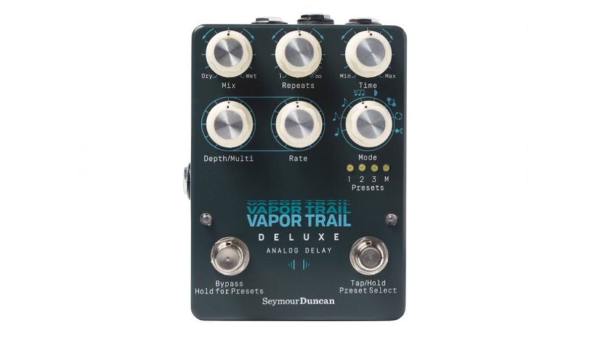 Seymour Duncan Launches Vapor Trail Deluxe Analog Delay