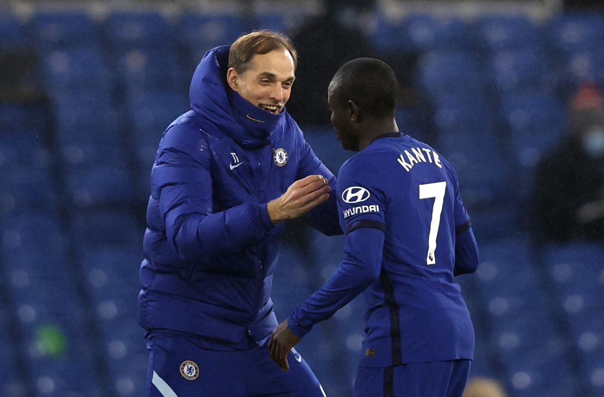 Thomas Tuchel hails 'unique' and 'fantastic' N'Golo Kante after Chelsea win