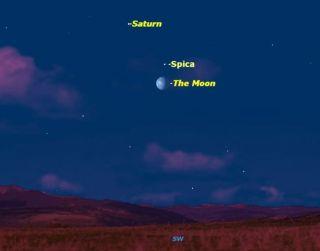 Planets Sky Map February 2012