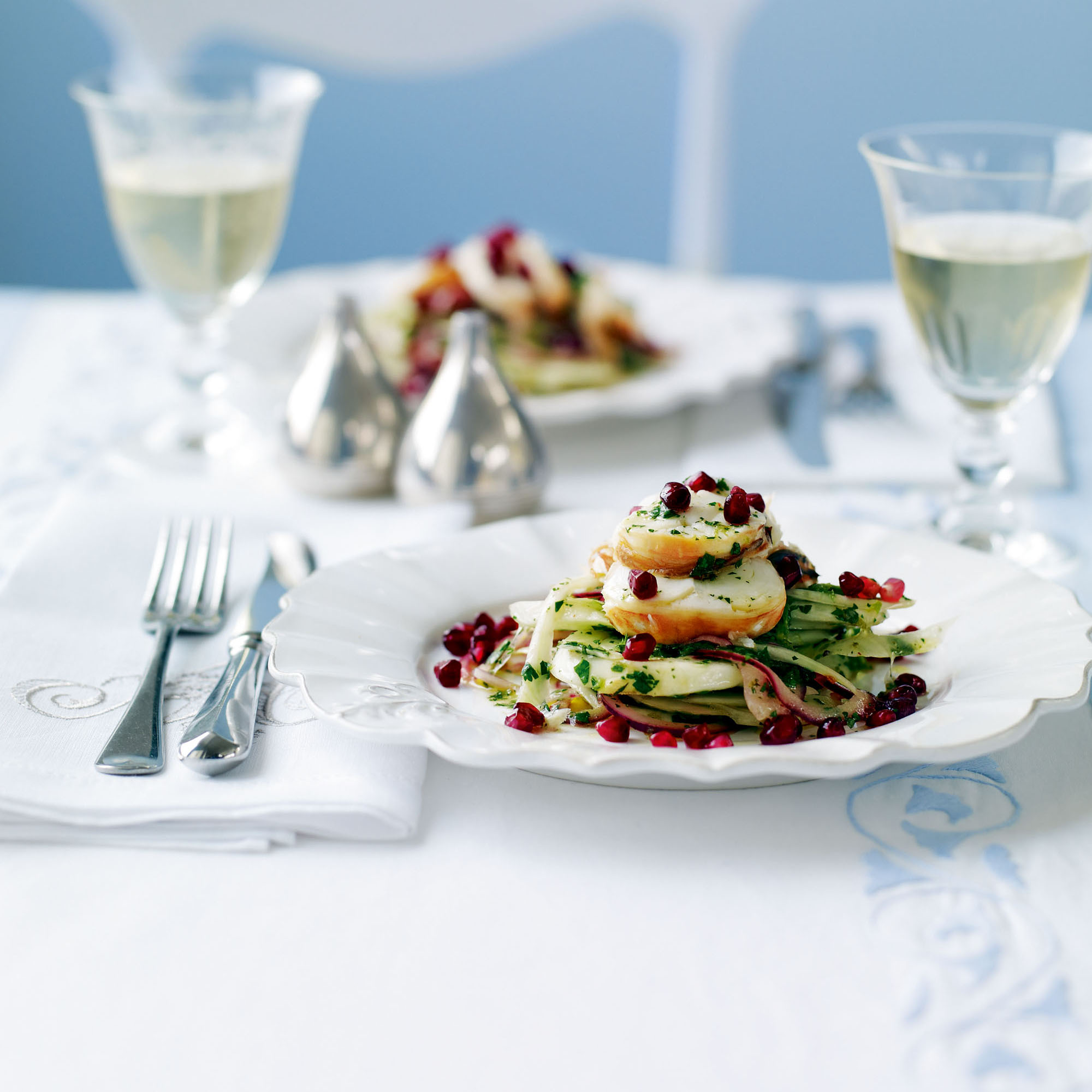 Fennel And Lobster Salad With Pomegranate | Dinner Recipes | Woman&home