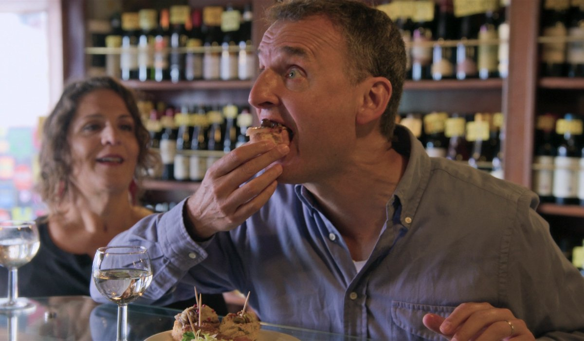 Somebody Feed Phil Phil Rosenthal scarfs down some delicious food