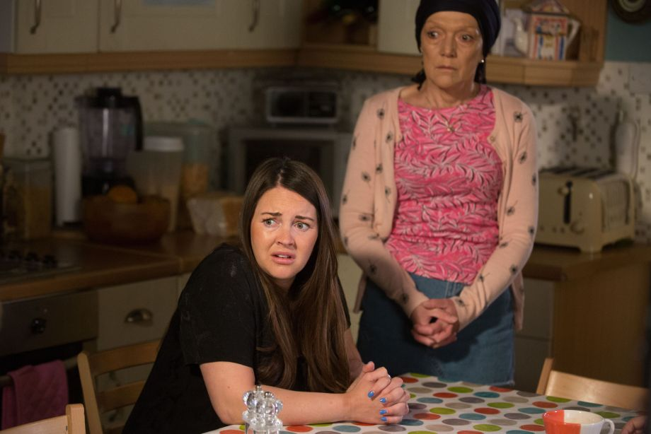 EastEnders Shirley wants the Slaters to give Phil's money back
