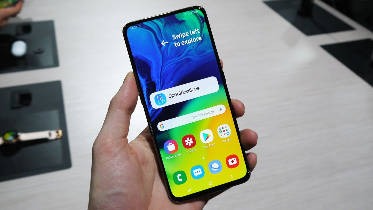 Samsung Galaxy A80 hands on review - TechRadar thumbnail