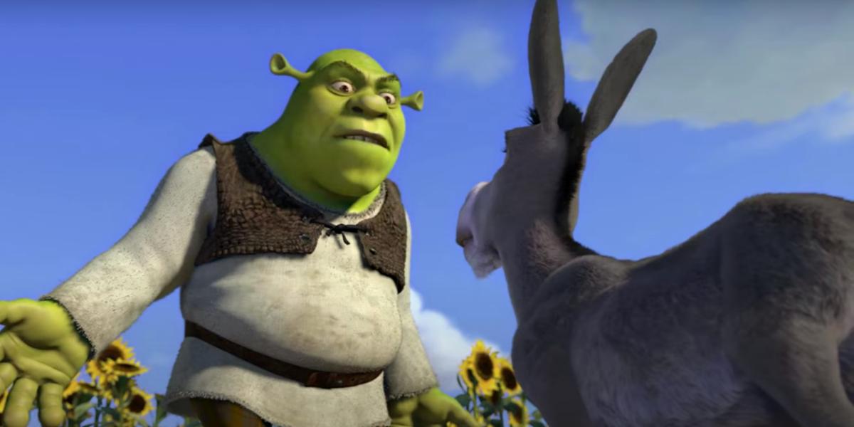 Shrek and Donkey in Shrek