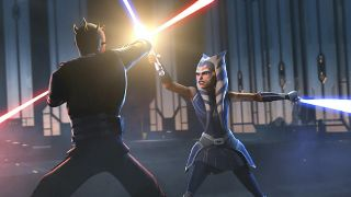 Ahsoka Tano vs. Darth Maul