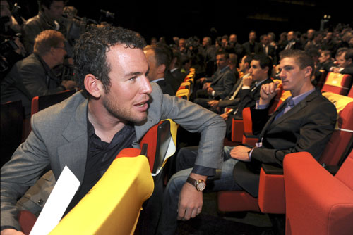 Mark Cavendish, Tour de France 2011 presentation, Paris