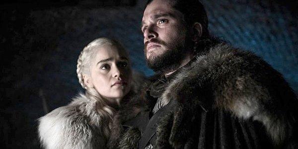 Game of Thrones Season 8 Daenerys Dany Targaryen Emilia Clarke Jon Snow Kit Harington HBO