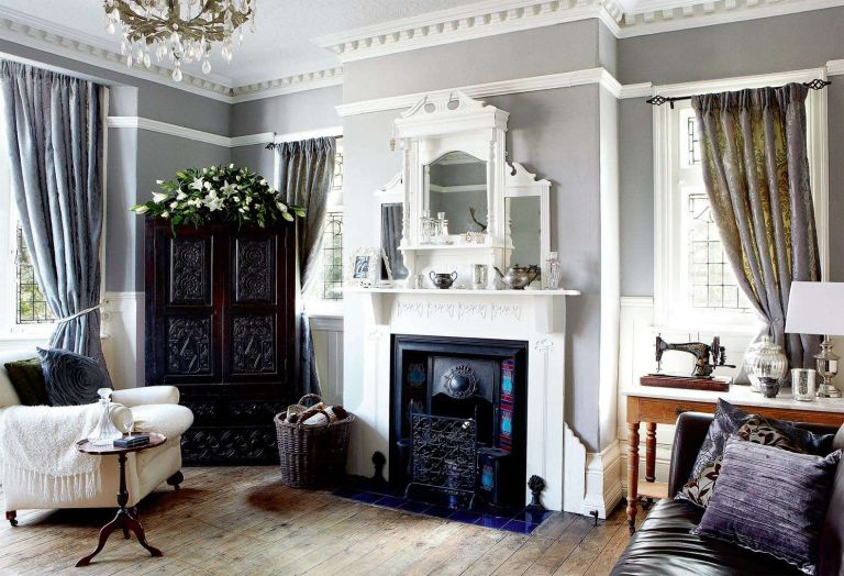 Real home transformation restoring a 1900s house real homes for Edwardian style interior design