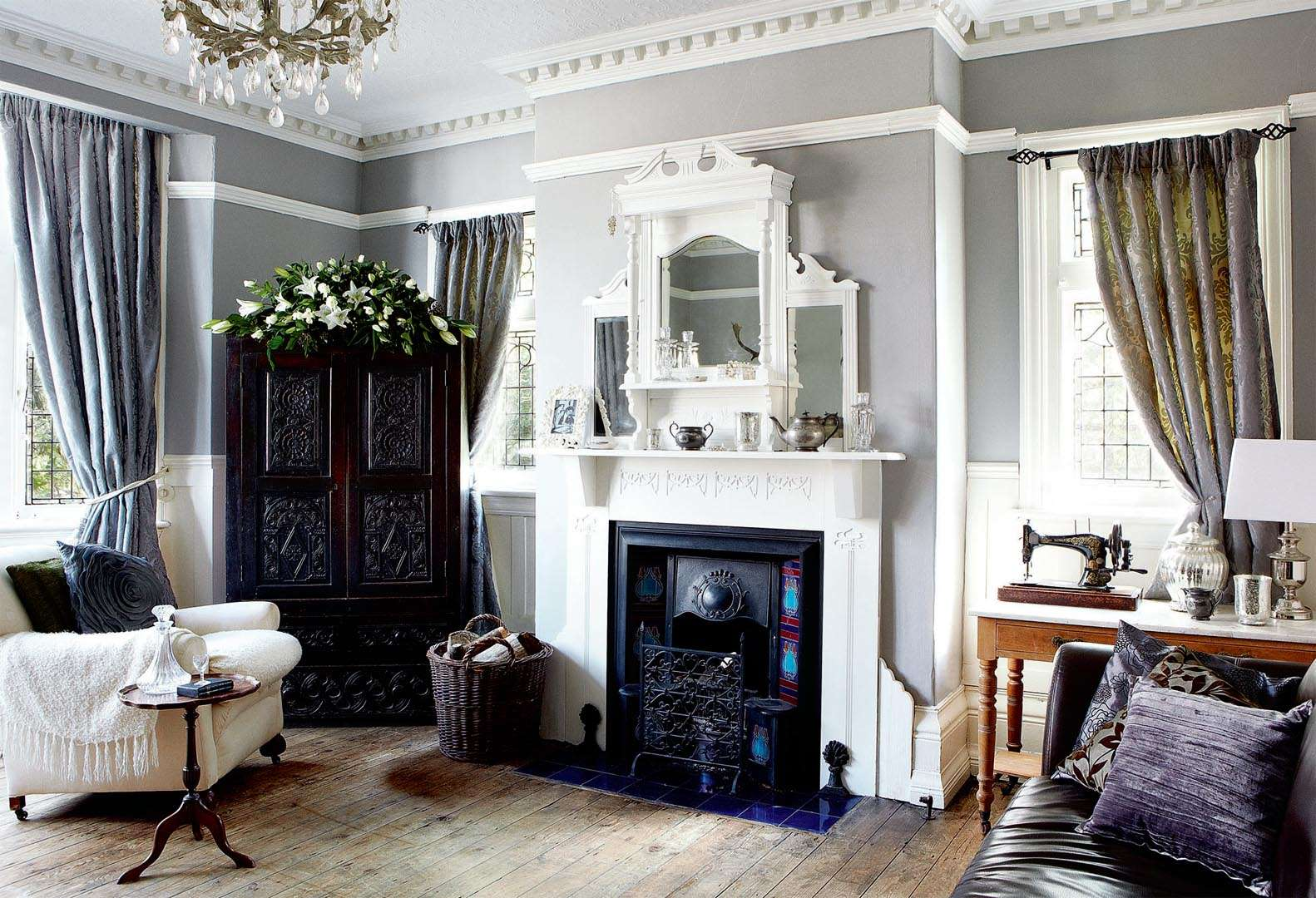 Wonderful Period Home Decorating Ideas Part - 10: Real Homes