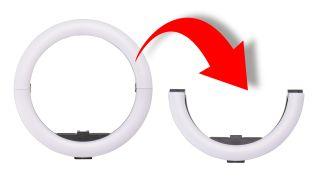 Etsumi Vlog Foldable Ring Light
