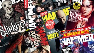 Metal Hammer covers