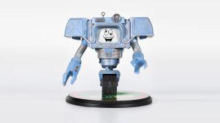 Fallout: New Vegas Yes Man statue