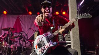 Tom Morello performs with Prophets of Rage at Tipitina's on October 26, 2017 in New Orleans