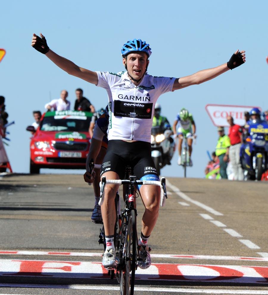 Daniel Martin wins, Vuelta a Espana 2011, stage nine