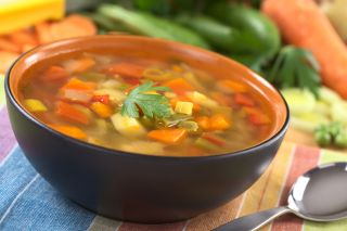 behealthy, vegetable, soup, low-calorie-density
