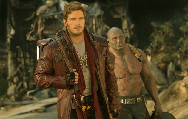 Guardians of the Galaxy Vol 2 Chris Pratt Dave Bautist