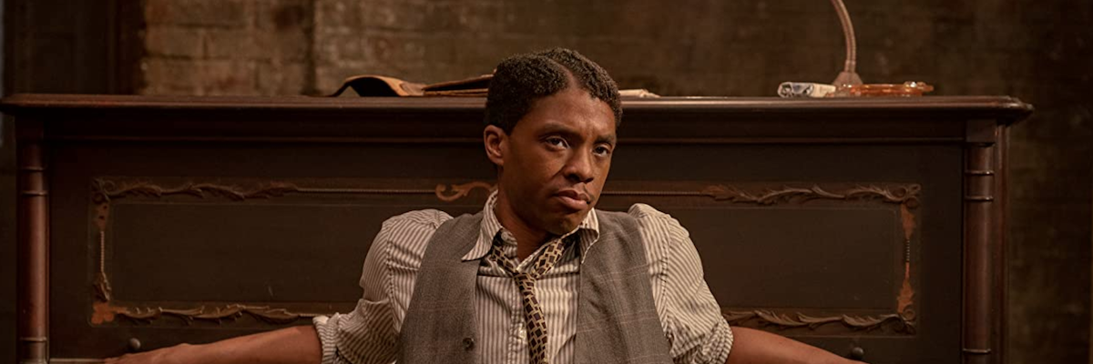 Chadwick Boseman in Ma Rainey