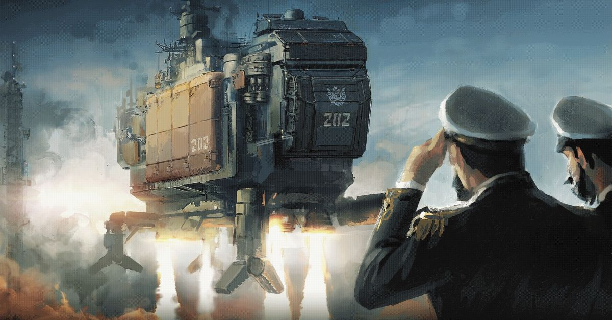 HighFleet is an action-strategy game that's like nothing I've ever played before