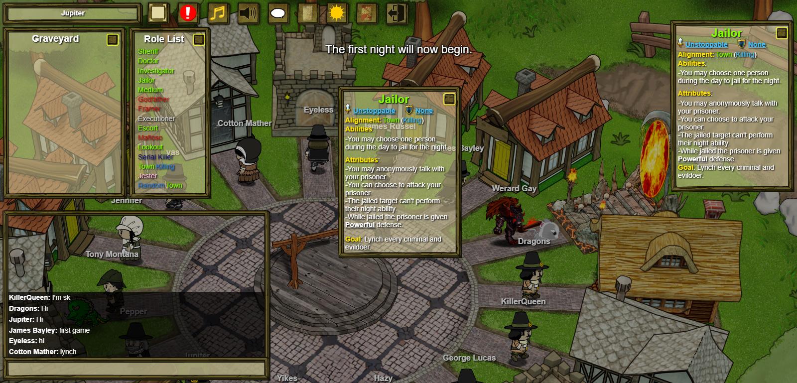 Best Browser Games: Town of Salem