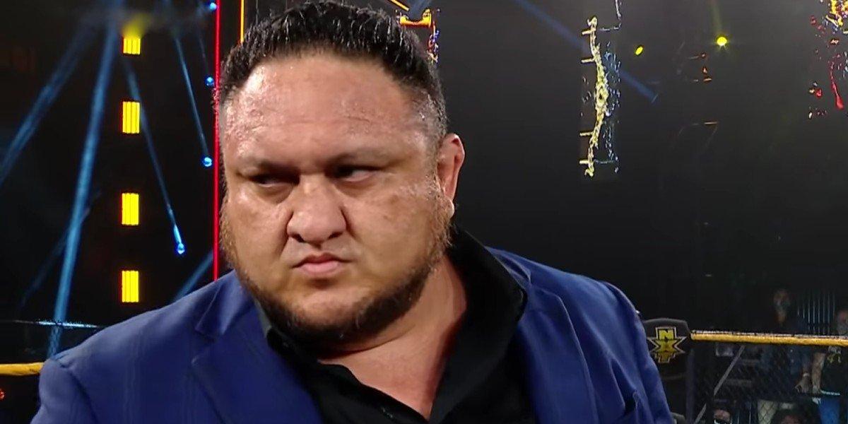 Samoa Joe in NXT on WWE